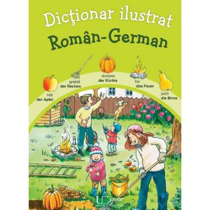 Dictionar ilustrat Roman - German
