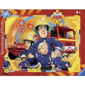Puzzle Pompierul Sam, 33 Piese (RVSPC06114)