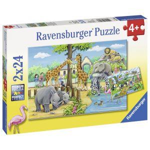 Puzzle Zoo, 2X24 Piese (RVSPC07806)