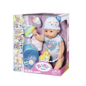 Baby Born - Bebelus Baiat Interactiv Cu Corp Moale (ZF824375)