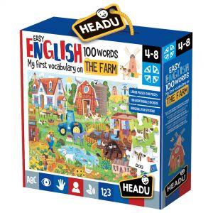 Engleza Nivel Simplu - 100 Cuvinte - Ferma (HE20997)