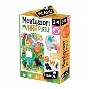 Montessori Primul Meu Puzzle - Jungla (HE22380)