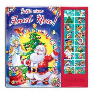 Carte Cu Sunete - Iata Vine Anul Nou!