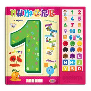 Carte Cu Sunete - Numere (romana + Engleza)