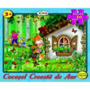 Puzzle - Cocosel Creasta De Aur (30 De Piese)