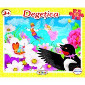 Puzzle - Degetica (120 De Piese)