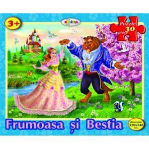 Puzzle - Frumoasa Si Bestia (30 De Piese)