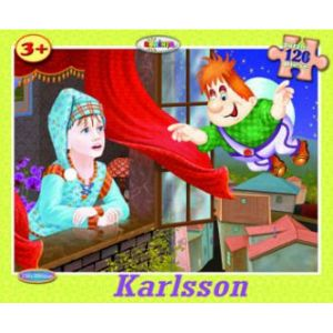 Puzzle - Karlsson (120 De Piese)
