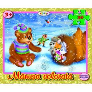 Puzzle - Manusa Colorata (30 De Piese)