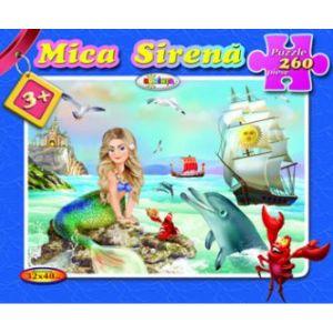 Puzzle - Mica Sirena (260 De Piese)