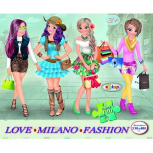 Puzzle - Milano Fashion (120 De Piese)