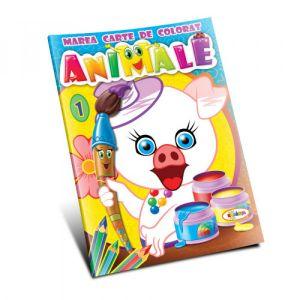 Marea Carte De Colorat - Animale (vol. 1)