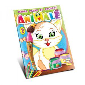 Marea Carte De Colorat - Animale (vol. 2)