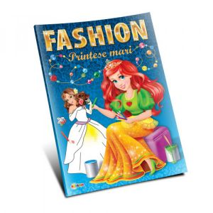 Marea Carte De Colorat - Fashion - Printese Mari