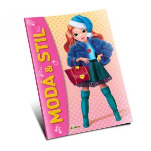 Marea Carte De Colorat - Moda & Stil