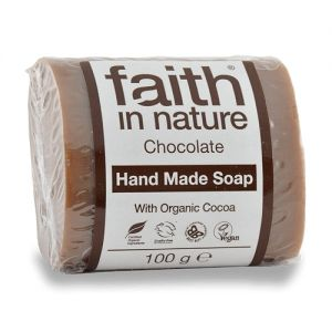 Sapun solid cu ciocolata, Faith in Nature, 100 g (FN013)