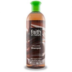Sampon cu ciocolata, pt. toate tipurile de par, Faith in Nature, 400 ml (FN007)