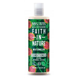 Balsam de par cu pepene, pt. par normal sau uscat, Faith in Nature, 400 ml (FN046)