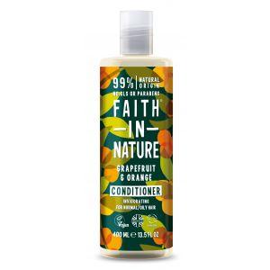 Balsam de par cu grapefruit si portocale, pt. par normal sau gras, Faith in Nature, 400 ml (FN045)