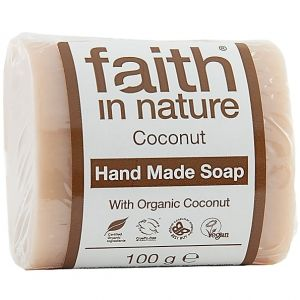 Sapun solid cu cocos, Faith in Nature, 100 g (FN082)