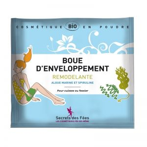Tratament cu namol modelator, pt. corp, cu alge si spirulina, Secrets des Fees, 40g (SDF015)