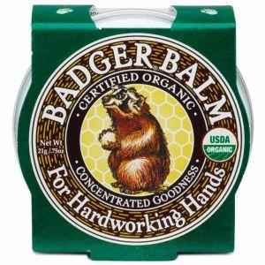 Mini balsam pentru maini crapate si muncite, Badger, 21 g (BDG001)