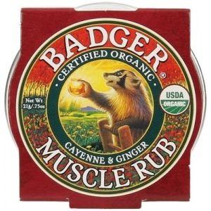 Mini balsam masaj dureri musculare cu ardei Cayenne si ghimbir, Badger21 g (BDG002)