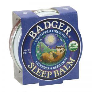 Mini balsam pentru un somn linistit, Sleep Balm Badger, 21 g (BDG003)