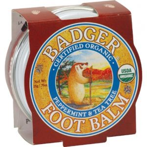 Mini balsam pentru picioare obosite, calcaie crapate, Foot Balm Badger, 21 g (BDG007)