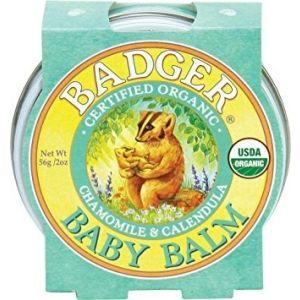 Mini balsam pentru bebelusi, Baby Balm Badger, 21 g (BDG008)
