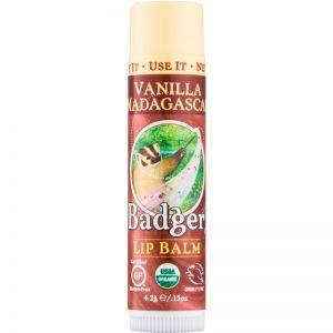 Balsam de buze Badger, Vanilla Madagascar, 4.2  (BDG011)