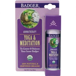 Balsam aromaterapie, Yoga si Meditatie, Badger, 17 g (BDG019)