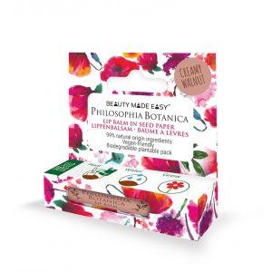 Balsam de buze Creamy Walnut, Beauty Made Easy, 4,8 g (BME015)