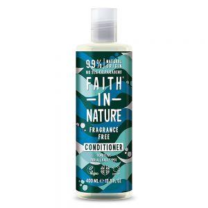 Balsam fara miros, pt toate tipurile de par, Faith in Nature, 400 ml (FN089)