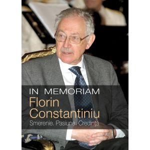 In memoriam Florin Constantiniu