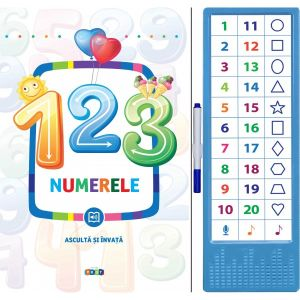 123. Numerele. Asculta si invata