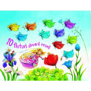 10 fluturi zboara vesel