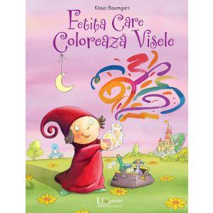 Fetita care coloreaza visele