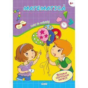 Matematica. Carte cu activitati 6+
