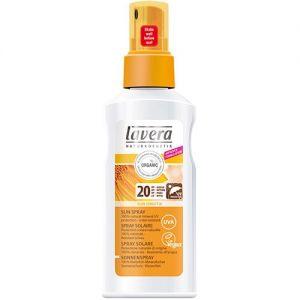 Spray cu extract de galbenele pentru protectie solara FPS 20, 125 ml (106946)