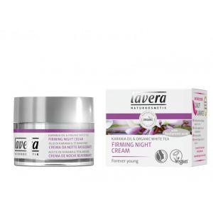 Crema de noapte pentru fermitate cu fitocolagen, acid hialuronic si ulei de karanja, 50 ml (106549)