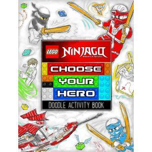 Lego® Ninjago: Choose Your Hero Doodle Activity Book