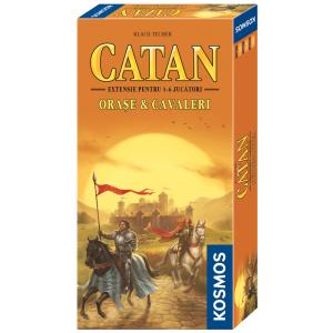 Catan - Orase & Cavaleri (extensie 5/6 jucatori)