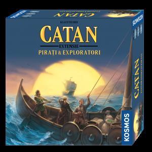 Catan - Pirati & Exploratori (extensie)