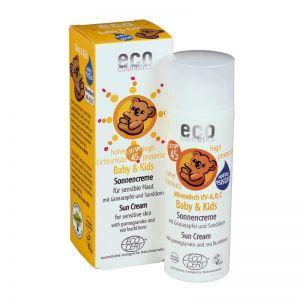 Crema bio protectie solara minerala bebe si copii FPS45 (73207)
