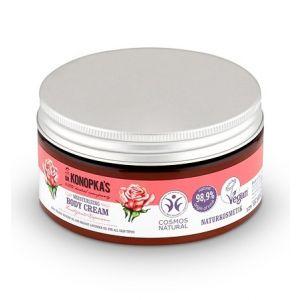 Crema de corp hidratanta cu trandafir, toate tipurile de piele, 300 ml (8884E)
