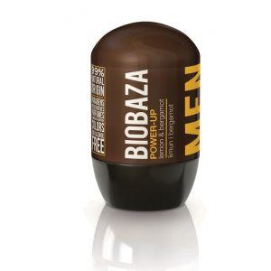 Deodorant natural pentru barbati POWER UP (lamaie si bergamot) (BZ40450)