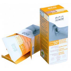 Crema bio cu protectie solara inalta FPS 50+, nuantata (74210)