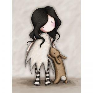 Felicitare Gorjuss - I Love You Little Rabbit