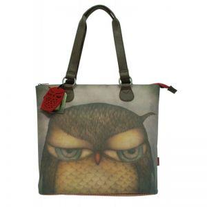 Geanta de umar Eclectic Grumpy Owl